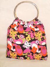 NWOT MOD No Boundaries Flower Power Butterflies Purse Handbag