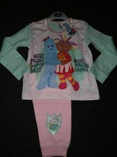 Girls Toddler Official In the Night Garden PJs Iggle Piggle Pjs Age 18-24 MTS