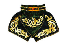 Thailand Muay Thai Shorts Mma Men Kids Kick Boxing Grappling Satin Pants Wear
