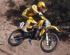 MOUSE PAD Rick Johnson #17 Yamaha 1984 Saddleback Park Photo Gift Motocross MX