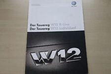 171698) VW Touareg W12 - Technik & Preise & Extras - Prospekt 12/2007
