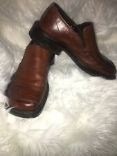 Franco Fortini Men's Shoes Dark Brown Size 8.5 Dress Oxfords Leather Shoes