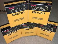 5 Rolls of Kodak V3 Super 8mm Colour Negative Film 200T 7213 Official Reseller