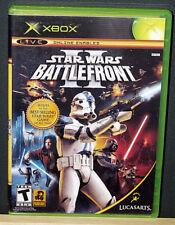 Star Wars: Battlefront II (Microsoft Xbox, 2005) NTSC-U/C Read Description CIB
