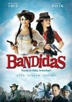 BANDIDAS DVD SALMA HAYEK PENELOPE CRUZ NEUWARE