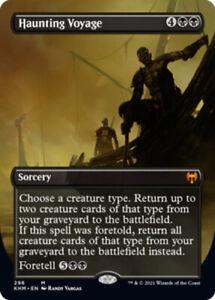Haunting Voyage - Borderless x1 Magic the Gathering 1x Kaldheim mtg card