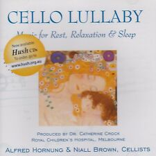 CD Cello Lullaby Alfred Hornung & Niall Brown Cellists