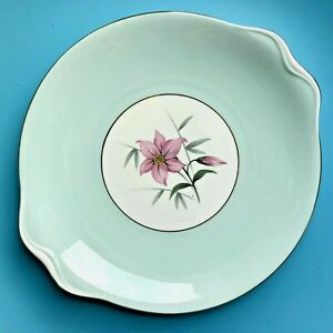 "Royal Albert ""Elfin"" Vintage Bone China Cake Plate Width 24 cm 9.5"" Ex Cond"