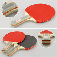 2 Player Table Tennis Ping Pong Set Includes 3 Balls TWO Paddle Bats Game
