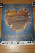Joe Bark Heart Paddleboard Race 1999 Vintage Surfing 12x18in. San Pedro Poster