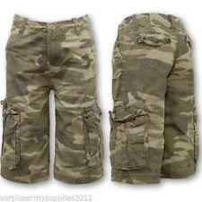 Shorts vert pour garçon de 2 à 16 ans
