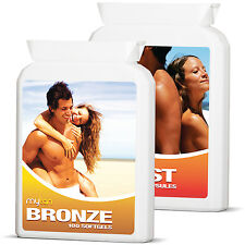 MyTan Bronze & MyTan Boost Ultimate Pack Sunless Tanning Pills and Boost Tablets
