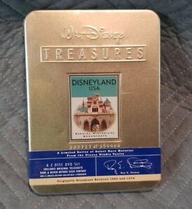 Walt Disney Treasures Disneyland USA Special Historical Broadcasts DVD Set