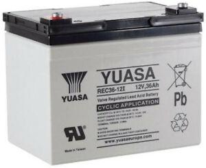 Yuasa Batteries de Golf et Mobilité - REC36-12