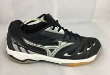 Mizuno Wave Rally 5 Women's Black/Silver Volleyball Athletic Shoes Sneaker /US 8