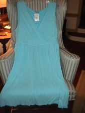NWT!!  FRESH PRODUCE ELEGANT & VERSATILE CROSSOVER TANK DRESS  (1X)