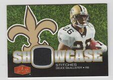 Deuce McAllister Saints 2006 Flair Showcase Stitches #SHS-DM