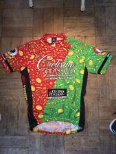 Nalini Bianchi Ciclismo Classico Mens Cycling Jersey Medium