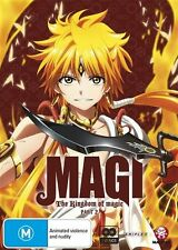 Magi: The Kingdom of Magic (Season 2) Part 2 (Eps 14-25) NEW R4 DVD