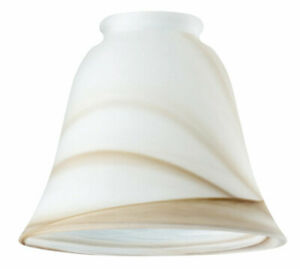 Westinghouse 81167 Brown Swirl Glass Fan/Fixture Shade 2-1/4 in. (Pack of 6)