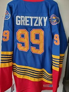 NWT Wayne Gretzky St. Louis Blues Throwback Home Jersey CCM Size Medium (48) 🔥