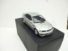 1:18Kyosho 1:18 BMW M3 E46   Silver  Grey  Coupe  Mint Boxed Dealer Box