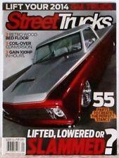 STREET TRUCKS Magazine Lifted, Lowered Or Slammed? Lift your 2014 GM Truck Sep13