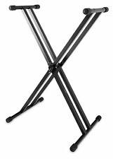 Professionnel Support Pour Clavier Piano Synthétiseur Stand Pied Double Barres X