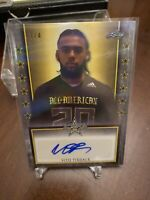 2020 Leaf All-American  VITO TISDALE  Gold Shimmer Tour AUTO 3/4 Kentucky