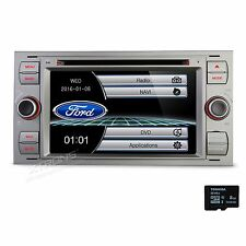 Car DVD/CD/Radio 2DIN Stereo GPS Navigation Screen Mirror for Ford Focus Mondeo