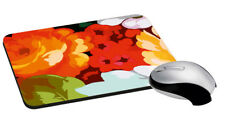 """Flower Mouse Pad Rectangle Mouse Pad Design For Computer Desk 7.2x8 """""""