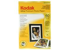 KODAK ULTRA PREMIUM 285GR A6 60F ( 10X15 ) LUCIDA GLOSSY PAPER INKJET CARTA