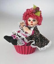 "Marie Osmond - Chocolate Raspberry Muffin, 5"" tall, MIB w/COA, FREE SHIPPING"