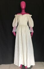 Vintage Gunne Sax Romantic Renaissance Bridal Collection Wedding Dress Ivory 9