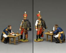 KING AND COUNTRY NAPOLEONIC Taking Notes ... Issuing Orders NA449