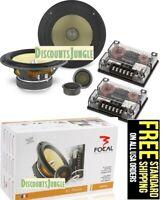 Focal K2 Power 165 KR2 6.5-Inch 2-Way Component Car Speaker Kit-165KR2- 165kr