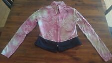 Western Show Shirt Top,Horsefeathers,SEE DESCRIPTION FOR MEASUREMENTS,Free Ship!