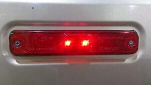 03-09 Hummer H2 Left/Right Rear Red Side Marker Light 15114677