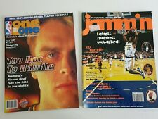 2 Magazine lot one on one jammin shane heal latrell spreewell Michael Jordan