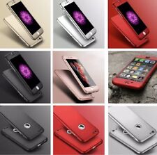 Hybrid 360° Shockproof Case fully Cover For Apple Samsung galaxy s9 plus s9 s8