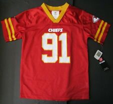 TAMBA HALI KANSAS CITY CHIEFS JERSEY SIZE SMALL 6-7 NEW WITH TAGS