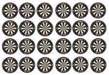 24 Darts Dartboard Cupcake Decoration Edible Cake Toppers  40mm