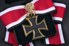 Ritterkreuz + Eichenlaub mit Schwertern und Brillanten - Goldedition Luftwaffe