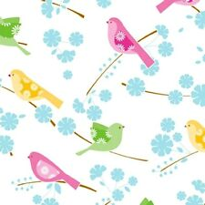 Song Bird Tissue Paper / Gift Wrap on White background #219 -- 10 Large sheets