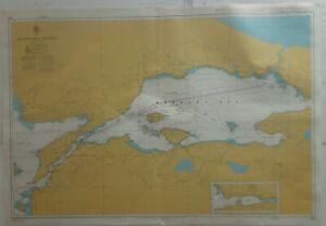 Admiralty 224 Marmara Denizi Turkey Nautical Chart Marine Geographical Map