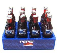1X 12Bottles Pepsi 3D Miniature Advertising Art Cute Magnet Dollhouse Home Decor