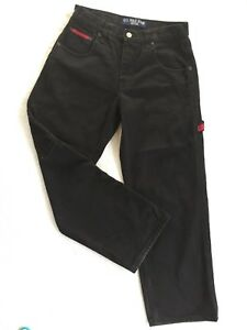 "US POLO ASSN Men's Jeans size 16 Black Denim waist= 29"" Unisex Made in Mauritius"