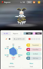 SHINY 6IV Original Color Magearna National Dex - Pokemon Home LEGENDARY