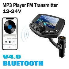 Bluetooth V4.0 Stereo Car Kit MP3 Player FM Transmitter Hands free USB Charger