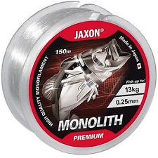 JAXON MONOLITH PREMIUM Angelschnur Spule Monofile transparent  Ø 0,10-0,35mm